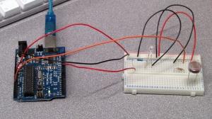Set up for light sensor